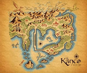 pokemon and map image