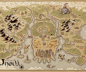 black, illustration, and map image