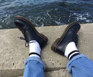 tumblr, dr martens, and denim image