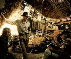 harrison ford and Indiana Jones image