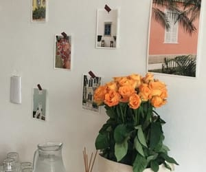 flowers, photos, and art hoe image