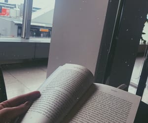airport, book, and bored image
