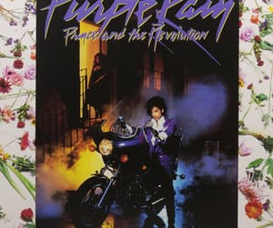 prince, purple, and rain image