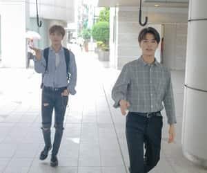 SM, haechan, and moon taeil image