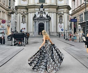dress, red carpet, and travel image