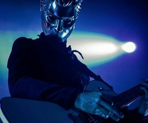 artist, mask, and nameless ghoul image