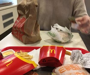 burger, fastfood, and diet image