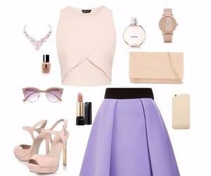 bag, fashion, and necklase image