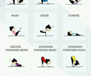 o, yoga, and sport image