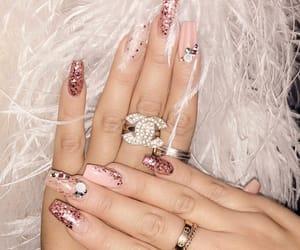 pink and nails image