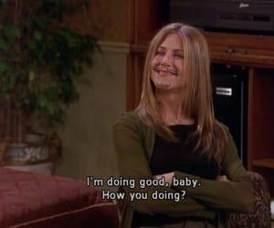 friends, funny, and Jennifer Aniston image