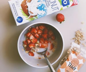 breakfast, cereals, and fitness image