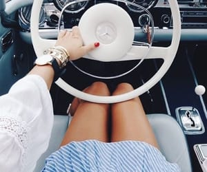 car, style, and watch image