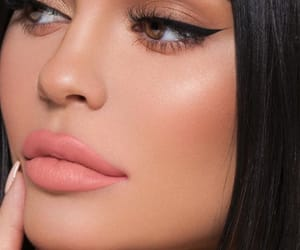 brown eyes, makeup, and kylie jenner image