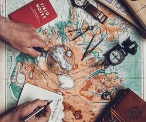 amazing, worldmap, and Awe image