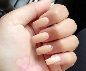 beige, dominican, and nail image