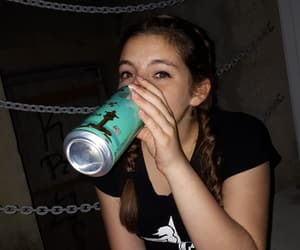 drink, rebellious, and girl image