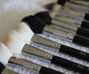 Brushes, makeup, and fashion image
