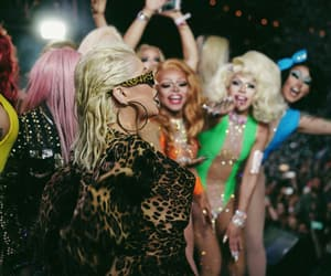 celebration, drag queens, and fun image