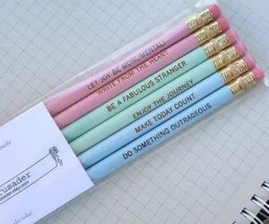 pencil, school, and pastel image