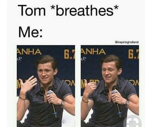 tom holland, Avengers, and funny image