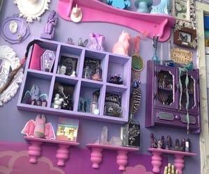 bedroom, kawaii, and pink image
