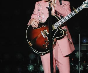 dimples, guitar, and pink image
