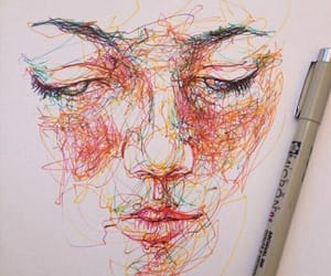 art, face, and draw image