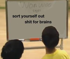 Seventeen, wonwoo, and seventeen memes image