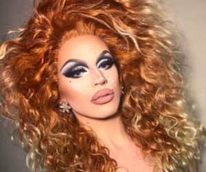 drag, makeup, and aquaria image