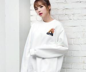 asian fashion, girl, and korean fashion image