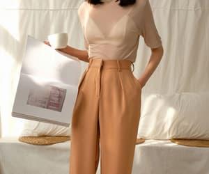 asian fashion, kfashion, and fashion style image