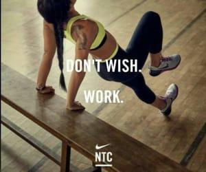 fitness, nike, and girl image