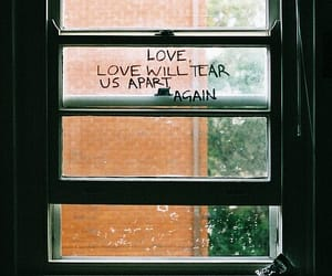 quotes, window, and joy division image