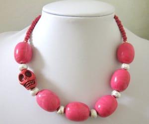 etsy, sugar skull, and skull jewelry image