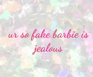 barbie, fake, and holographic image