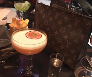 cocktail, drinks, and LV image