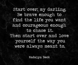 quote, darling, and life image