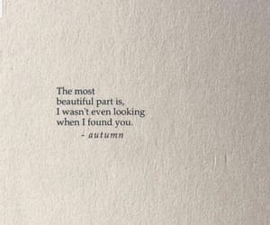 autumn, quote, and lové image