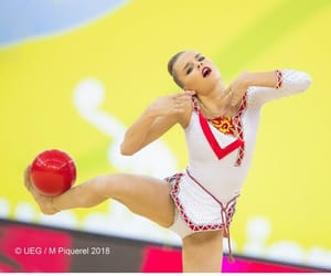 ball, rhythmic gymnastics, and dina averina image