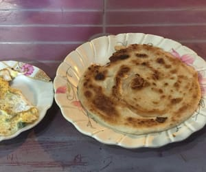 breakfast, paratha, and food image