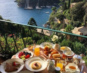 food, ocean, and travel image