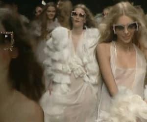 fashion, gif, and runway image