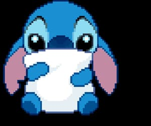 gif, stitch, and cute image