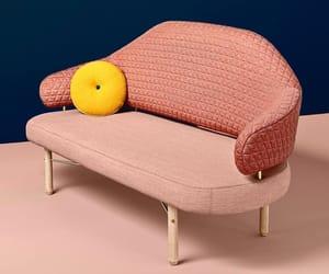 blue, design, and pink image