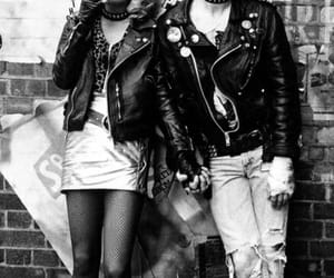 sex pistols, punk, and sid and nancy image