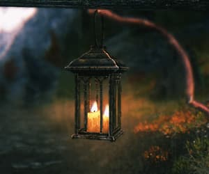 candle, nature, and gif image