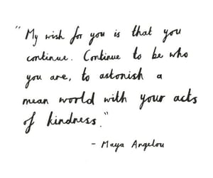 quotes, maya angelou, and words image