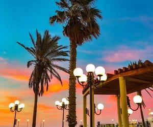 beach, colors, and malta image