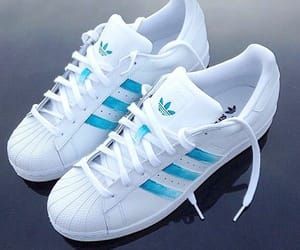 adidas, blue, and luxury image
